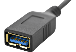 DIGITUS AK 300315-001-S USB 3.0 USB Adapter, Schwarz