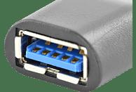 DIGITUS AK 300506-00-S, USB 3.0 Adapter, USB Typ-C auf USB A (Stecker/Buchse), 3A, 5 Gbit/s, Adapter