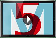 HUAWEI MediaPad M5, Tablet , 32 GB, 10.8 Zoll, Space Grey