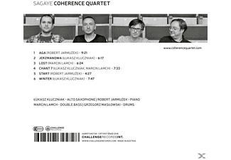 Coherence Quartet - Sagaye  - (CD)