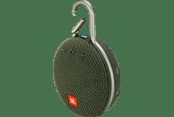 JBL Clip 3 Bluetooth Lautsprecher, Grün, Wasserfest