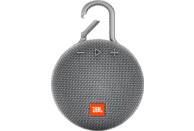 JBL Clip 3 Bluetooth Lautsprecher, Grau, Wasserfest
