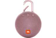 JBL Clip 3 Bluetooth Lautsprecher, Pink, Wasserfest