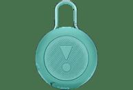 JBL Clip 3 Bluetooth Lautsprecher, Mint, Wasserfest