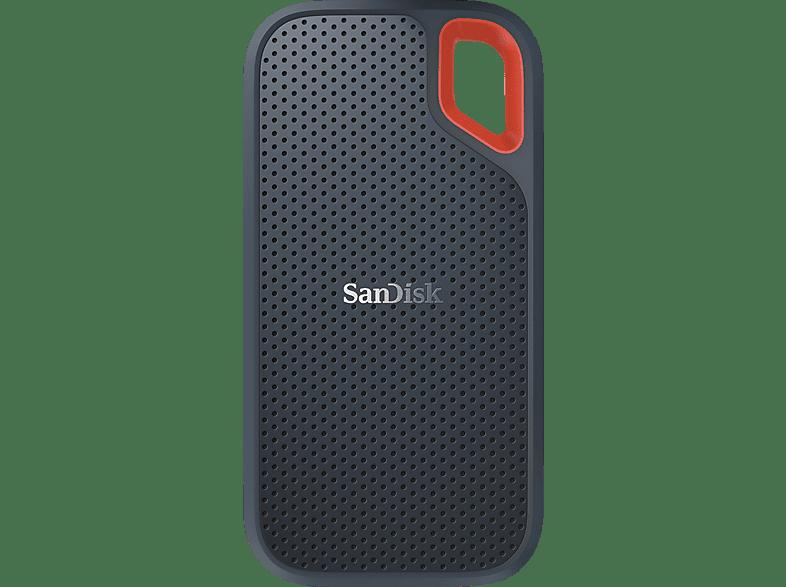 SANDISK Extreme® Portable SSD 1 TB, 1 TB SSD, 2,5 Zoll, extern, GrauRot 1 Festplatte kaufen   SATURN