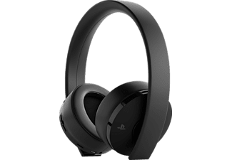 SONY Wireless-Headset - Gold Edition, Over-ear Gaming Headset Schwarz
