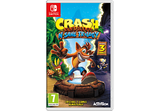 Crash Bandicoot N Sane Collection Nintendo Switch
