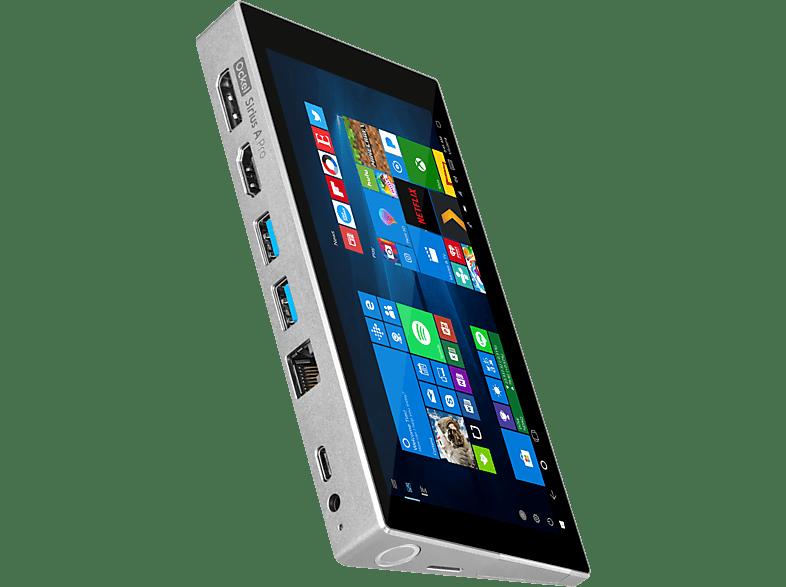 OCKEL PC Mini Sirius A 64 GB Intel Atom x7-Z8750 Moon Silver (OCSA-0411)