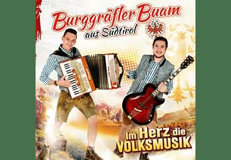 Burggräfler Buam - Im Herz die Volksmusik  - (CD)