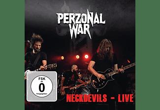 Perzonal War - Neckdevils-Live (Ltd.CD+DVD Digipak)  - (CD + DVD Video)