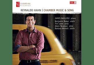 James Baillieu - Chamber Music & Song Vol.1  - (CD)
