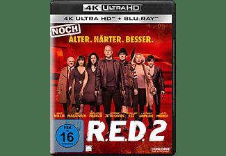 R.E.D. 2 - Noch älter. Härter. Besser. 4K Ultra HD Blu-ray + Blu-ray