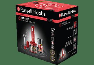 RUSSELL HOBBS 24700-56 Desire Stabmixer Rot/Schwarz (500 Watt, 0.7/0.5 Liter)