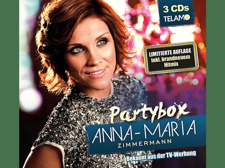 Anna Maria Zimmermann Partybox Cd