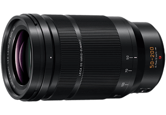 PANASONIC Objektiv Leica DG Vario Elmarit 50-200mm f2.8-4.0 ASPH OIS (H-ES50200), Schwarz