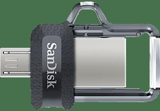 SANDISK Ultra® Dual USB-Laufwerk m3.0 USB Stick, 256 GB, 150 MB/s