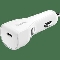 HAMA USB Typ-C Power Delivery (PD) Kfz Ladegerät, Weiß