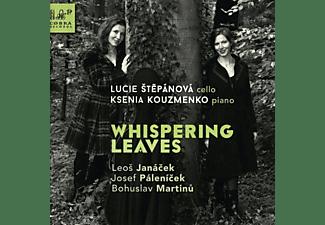 Stepanova,Lucie/Kouzmenko,Ksenia - Whispering Leaves  - (CD)