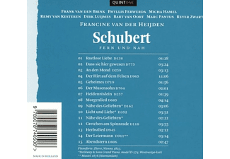 Francine Van Der Heijden - Fern und nah  - (CD)