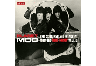VARIOUS - Planet Mod-Brit Soul And R&B From The Shel Talmy  - (CD)