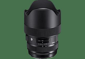 SIGMA 212955 14 mm - 24 mm f/2.8 DG, HSM (Objektiv für Nikon F-Mount, Schwarz)