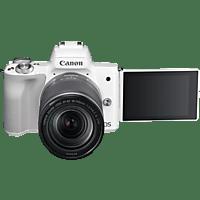 CANON EOS M50 Kit Systemkamera mit Objektiv 18-150 mm f/3.5-6.3, 7,5 cm Display Touchscreen, WLAN