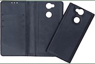 V-DESIGN V-2-1 135  2-in-1 Bookcover Sony Xperia XA2 Kunstleder Blau