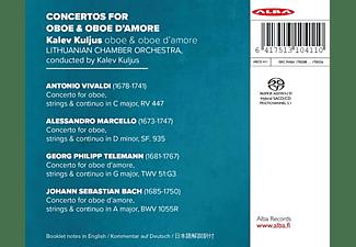 Kalev Kuljus - Konzerte für Oboe & Oboe d'amore  - (SACD Hybrid)