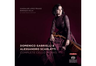 Guadalupe Lopez Iniguez - Sämtliche Werke für Cello  - (SACD Hybrid)