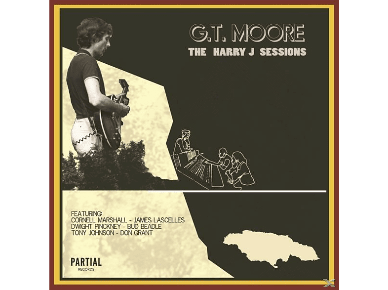 G.T. Moore - The Harry J Sessions [CD]