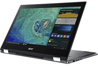 ACER Spin 5 (SP515-51GN-57B1), Convertible mit 15.6 Zoll Display, Core™ i5 Prozessor, 8 GB RAM, 512 GB SSD, 1 TB HDD, GeForce® GTX 1050, Steel Gray