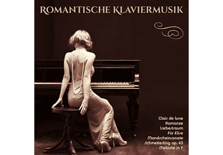 VARIOUS - Romantische Klaviermusik  - (CD)