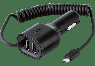 ISY Auto Micro-USB  Ladegerät Universal, Schwarz