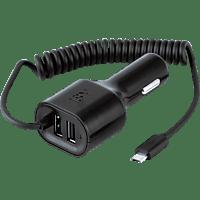 ISY Auto Micro-USB  Ladegerät, Schwarz