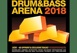 VARIOUS - Drum & Bass Arena 2018 (3CD+MP3)  - (CD)