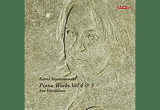 Anu Vehviläinen - Klavierwerke Vol. 4 & 5  - (CD)