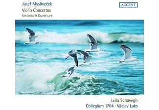 Leila Schayegh - Josef Myslivecek: Violinkonzerte  - (CD)