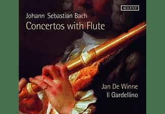 Joanna Huszcza, Zvi Meniker, Il Gardellino, Jan De Winne - Johann Sebastian Bach: Orchestersuite Nr.2  - (CD)