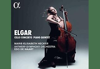 Antwerp Symphony Orchestra, Marie-elisabeth Hecker, Edo De Waart - Edward Elgar: Cellokonzert op.85  - (CD)