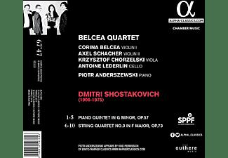 Piotr Anderszewski, Belcea Quartet - Shostakovich Quartet No. 3 Quintet  - (CD)