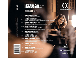 Sandrine Plau, Susan Manoff - Chimère-Lieder  - (CD)