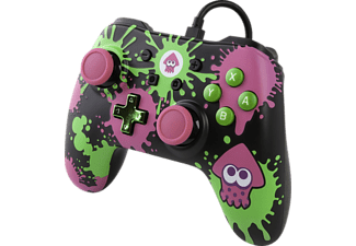 POWER A Splatoon Core Wired Iconic Controller} Mehrfarbig