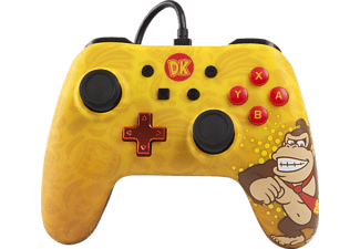 POWER A Donkey Kong Core Wired Iconic Controller} Mehrfarbig