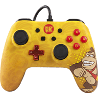 POWER A Donkey Kong Core Wired Iconic Controller, Mehrfarbig