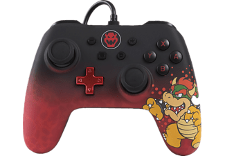POWER A Bowser Core Wired Iconic Controller} Mehrfarbig