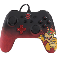 POWER A Bowser Core Wired Iconic Controller, Mehrfarbig