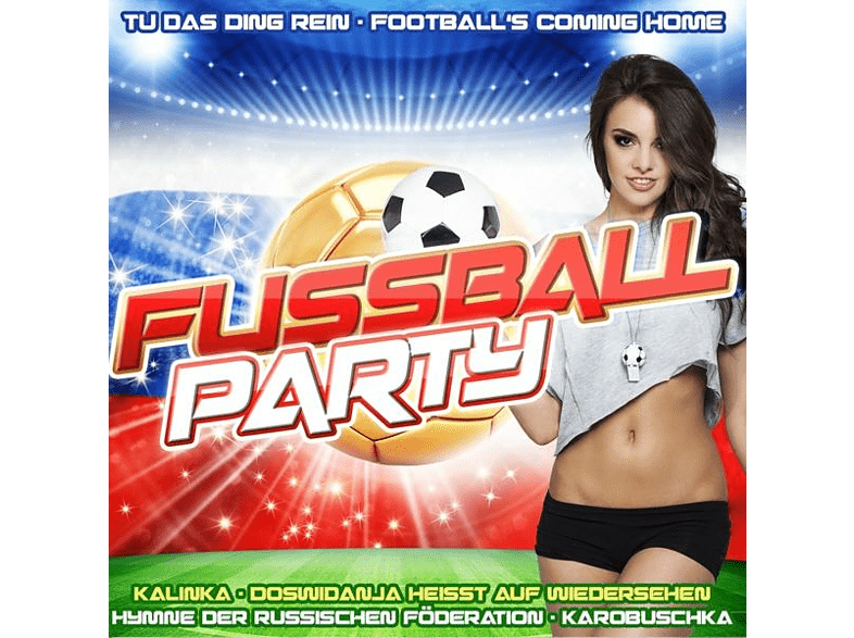 VARIOUS - Fußball Party [CD]