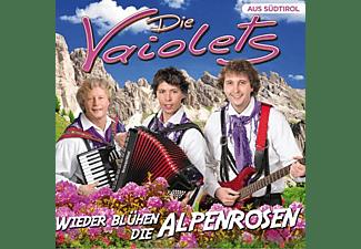 Die Vaiolets - Wieder blühen die Alpenrosen  - (CD)