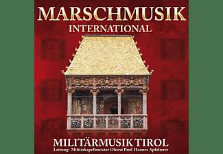 Militärmusik Tirol - Marschmusik international  - (CD)