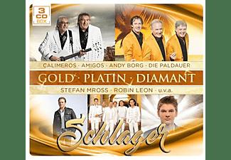 VARIOUS - Schlager-Gold Platin Diamant  - (CD)